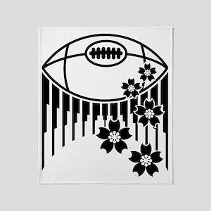 japan rugby Throw Blanket