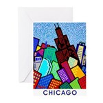 Sears Tower Greeting Cards (Pk of 10)