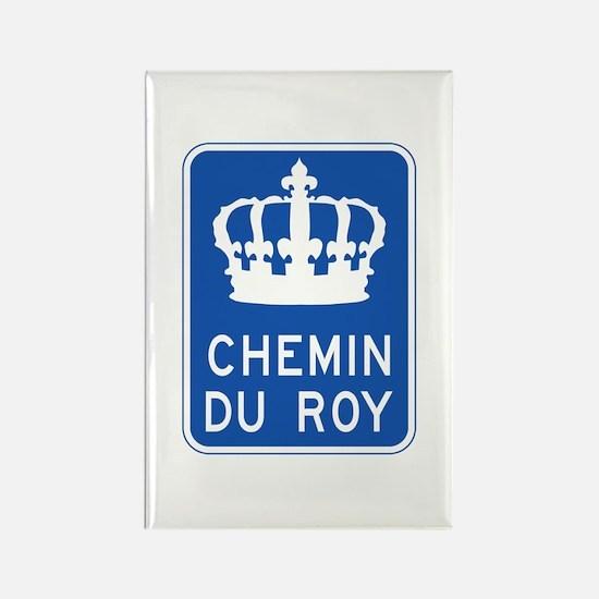 Chemin du Roy, Quebec, Canada Rectangle Magnet