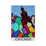Sears Tower Single Rectangle Magnet