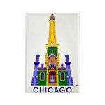 Chicago Water Tower Rectangle Magnet (10 pack)