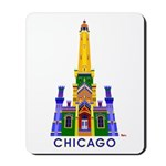 Chicago Water Tower Mousepad