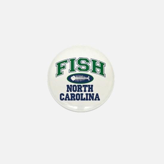 Fish North Carolina Mini Button