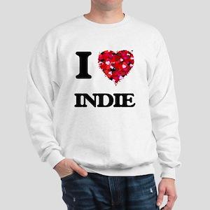 I Love My INDIE Sweatshirt