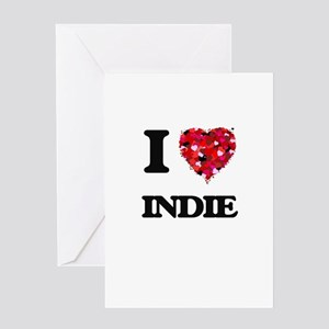 I Love My INDIE Greeting Cards