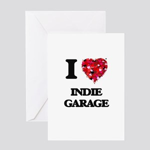 I Love My INDIE GARAGE Greeting Cards