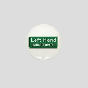 Left Hand, West Virginia, US Mini Button