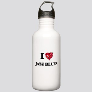 I Love My JAZZ BLUES Stainless Water Bottle 1.0L