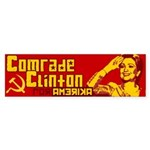 Comrade Clinton Bumper Sticker