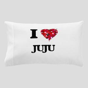 I Love My JUJU Pillow Case