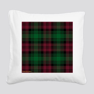 Lindsay Clan Square Canvas Pillow