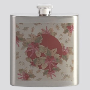 Holiday Holly Flask