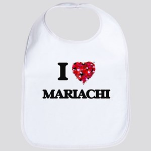 I Love My MARIACHI Bib