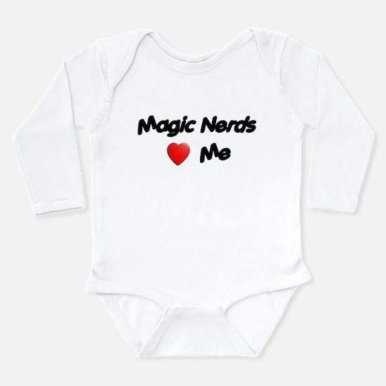 Cute Magic Long Sleeve Infant Bodysuit