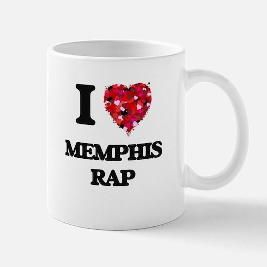 I Love My MEMPHIS RAP Mugs