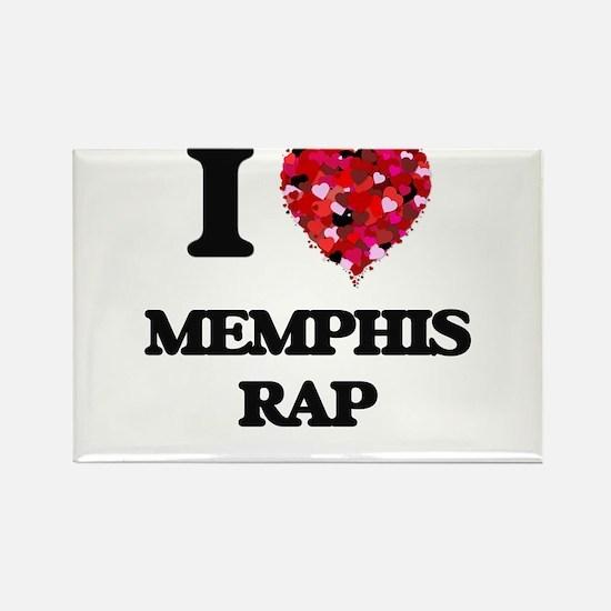 I Love My MEMPHIS RAP Magnets