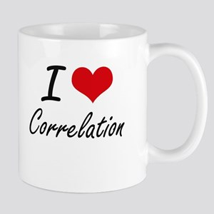 I love Correlation Mugs