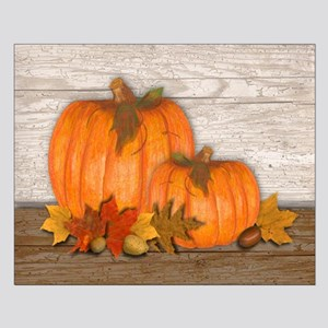 Fall Pumpkins Small Poster