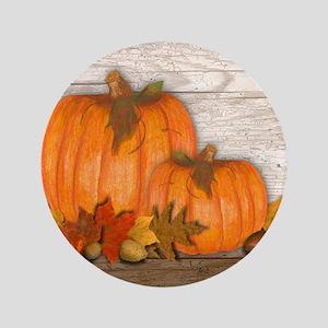 Fall Pumpkins Button