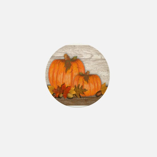 Fall Pumpkins Mini Button (10 pack)