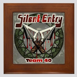 Silent Entry Framed Tile