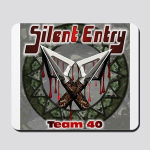 Silent Entry Mousepad
