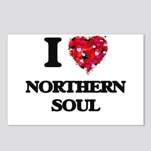 I Love My NORTHERN SOUL Postcards (Package of 8)