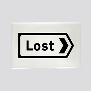 Lost, UK Rectangle Magnet