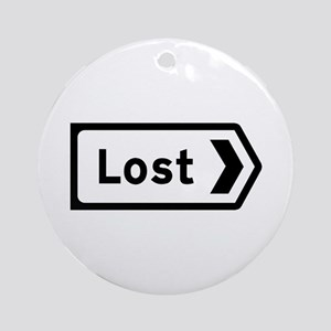 Lost, UK Round Ornament