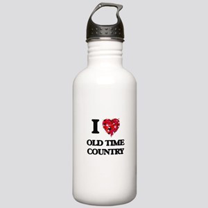 I Love My OLD TIME COU Stainless Water Bottle 1.0L