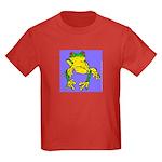 Red Eyed Tree Frog Kids Dark T-Shirt