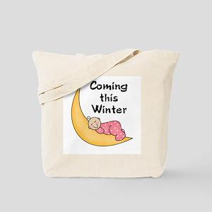 Winter (white girl) Tote Bag