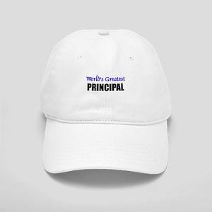Worlds Greatest PRINCIPAL Cap