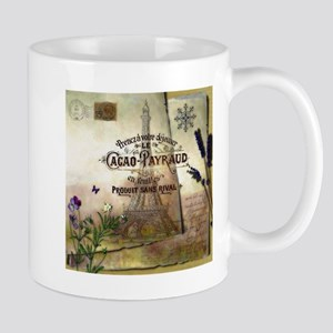 French collage Mugs