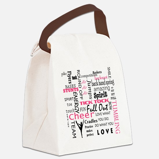 Funny Base Canvas Lunch Bag