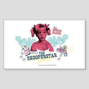 The Brady Bunch: Snooperstar C Sticker (Rectangle)