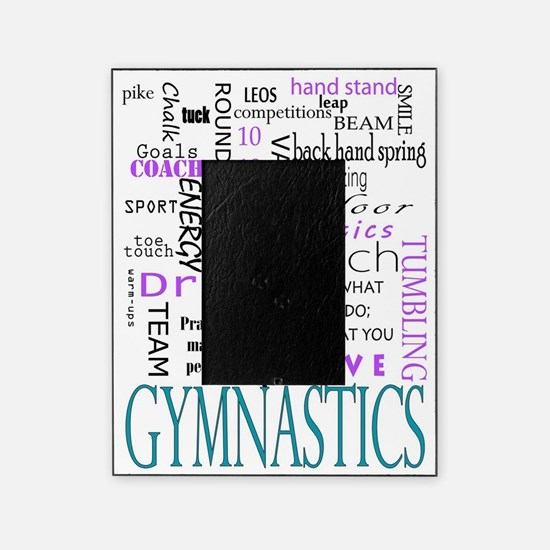Cute Gymnastics Picture Frame