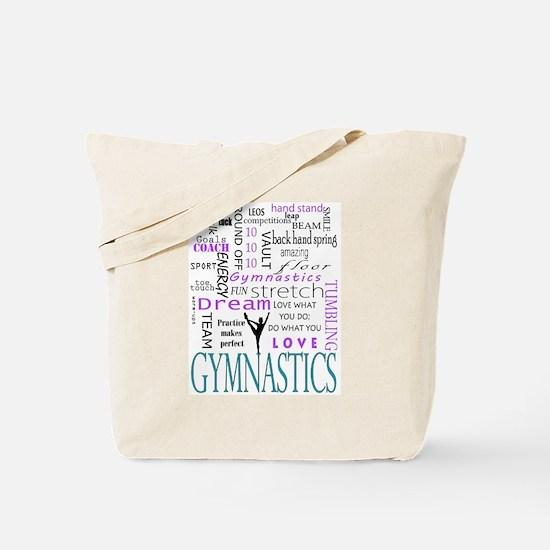 Cute Gymnastics Tote Bag