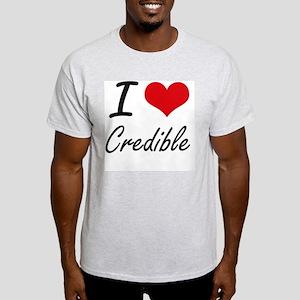 I love Credible T-Shirt