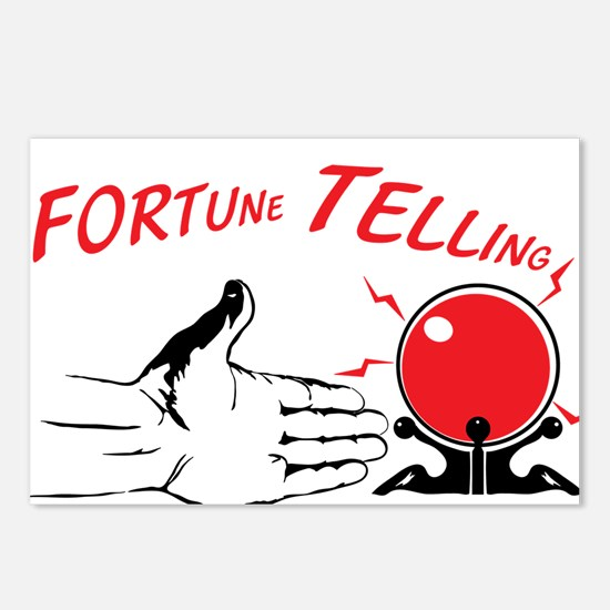 Fortune teller Postcards (Package of 8)