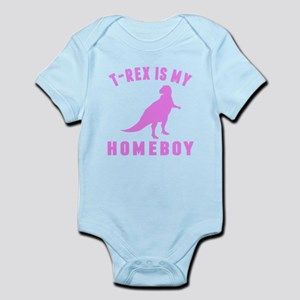 T-Rex Is My Homeboy Body Suit