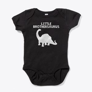 Little Brothersaurus Baby Bodysuit