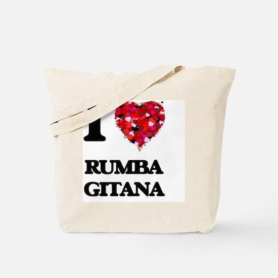 I Love My RUMBA GITANA Tote Bag