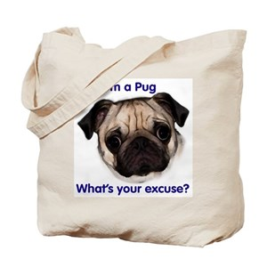 Chinese Pug Bags Cafepress