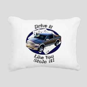 Dodge Ram Rectangular Canvas Pillow