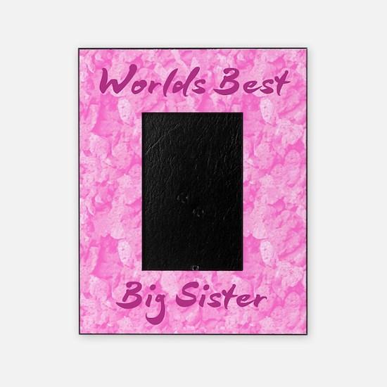 World's Best Big Sister Picture Frame