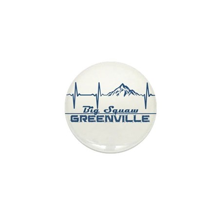Big Squaw - Greenville - M Mini Button (10 pack)