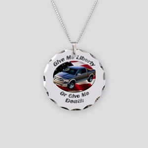 Dodge Ram Necklace Circle Charm