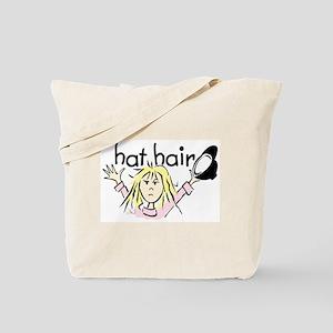Hat Hair Tote Bag