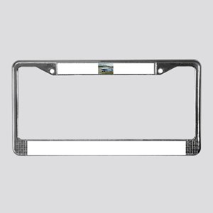 Just plane crazy: high wing ai License Plate Frame